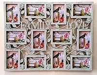 """Фоторамка """"Family Love"""", на 12 фото, фото 1"""