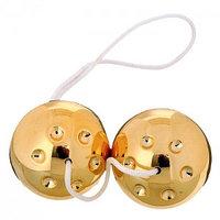 Золотые вагинальные шарики 7334QG-PLBXSC