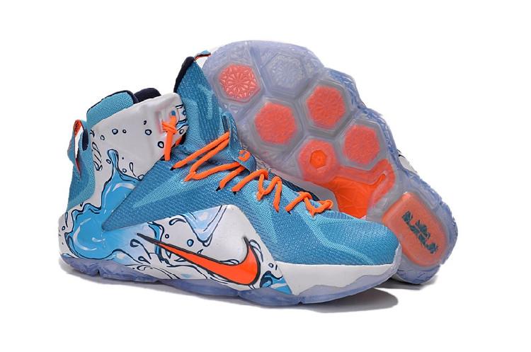 "Кроссовки Nike LeBron XII (12) GS ""Buckets"" (40-46)"
