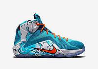 "Кроссовки Nike LeBron XII (12) GS ""Buckets"" (40-46), фото 2"