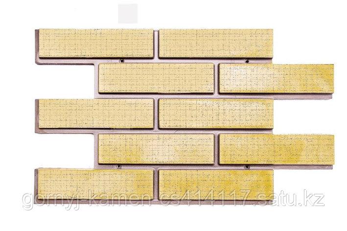 Фасадная облицовочная бетонная панель - Кирпич волна, фото 2