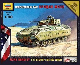 Сборная масштабная модель Боевая машина пехоты Брэдли M2A2, Zvezda, 1/100