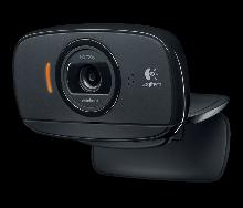 Logitech 960-001064 C525 Портативная складывающаяся веб-камера с функцией автофокусировки