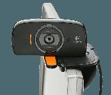 Logitech 960-001064 C525 Портативная складывающаяся веб-камера с функцией автофокусировки, фото 2