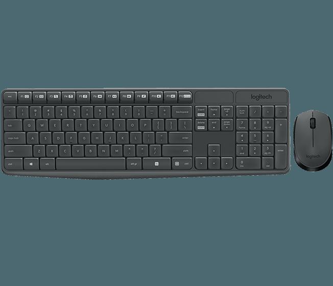 Logitech 920-007948 MK235 Беспроводной комплект мышь + клавиатура