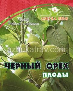 Черный орех, плоды, 20гр