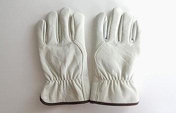 Перчатки рабочие кожаные (из говяжьей кожи)
