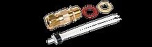 Подсоединительный набор с металлическим сальником C25-100-METAL