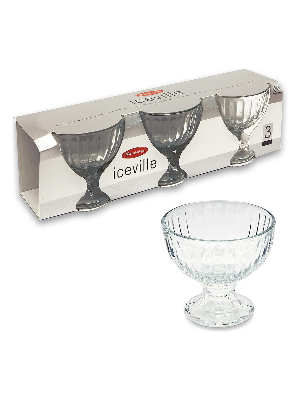Набор креманок 3шт Ice Ville  Pasabahce (51018/3)