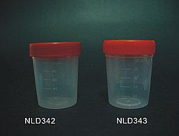 Контейнеры для анализов стерильные 120, стерильный, без ложки