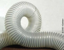 Шланг, рукав, воздуховод PO из полиолефина, для абразива, химии, газообразных сред тип POLI