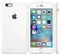 Cиликоновый чехол для iPhone 6s (белый), фото 1