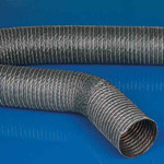 Гибкий воздуховод для вентиляции и кондиционирования U1 до 150 гр ф-150