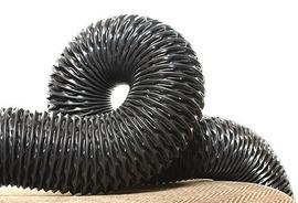 Гофрированный ПВХ рукав для пыли, мелкого абразива, газов VINI ф-150