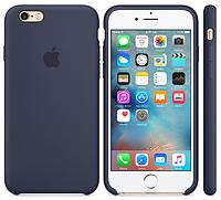 Силиконовый чехол для iPhone 6s (темно-синий), фото 1