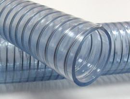 Рукав Wire food  пищевой ПВХ прозрачный с металлической спиралью НВС ф-50