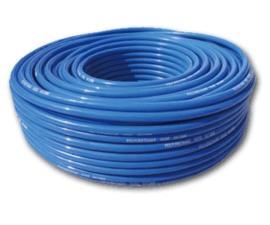 Трубка ПУ полиуретановая для пневмосистем и сжатого воздуха, пневматика ф9*12