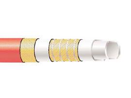 Пищевой рукав из резины LMUS Semperit напорно-всасывающий красный до 12 бар