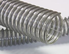 Рукав Zeus шланг из полиуретана с ПВХ спиралью типа Lignum PU, Oregom PU
