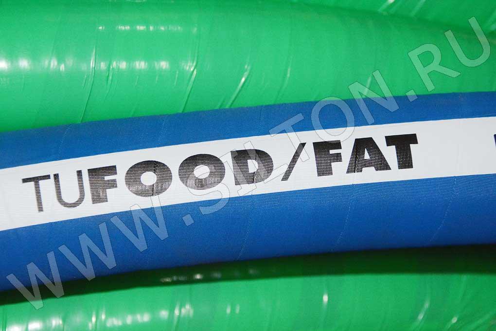 Рукав для подачи пищевых масел, жиров и продуктов, содержащих жир Tufood FAT от фирмы TUDERTECHNICA