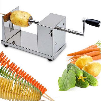 Устройство для приготовления чипсов, слайсер Potato Slicer ,H001 Алматы, фото 2