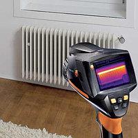 Тепловизионное обследование зданий, строений и систем отопления.