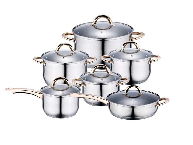 Набор посуды Kaiserhoff (Кайзерхоф) KH 4350 (12 предметов)
