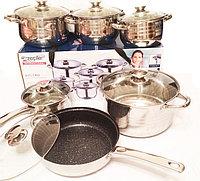 Набор кухонной посуды «Zepter», 12 предметов