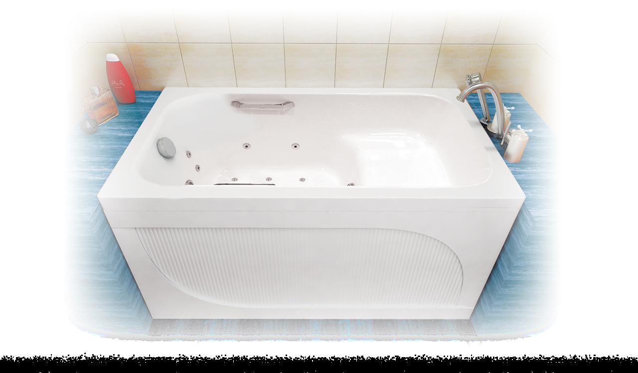 Акриловая ванна АРГО 120*70*610