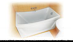 Акриловая ванна ИРИС 130*70*64