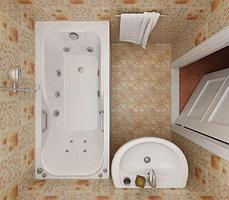 Акриловая ванна КЭТ  150*70*56, фото 2