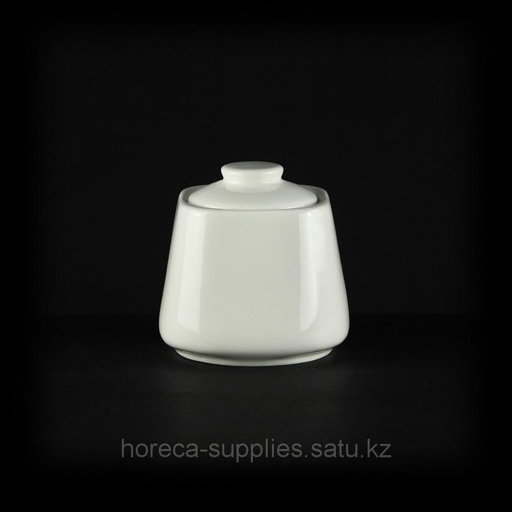 Сахарница квадратная «Chan Wave» 70 мм [ivory LQ-Q882]