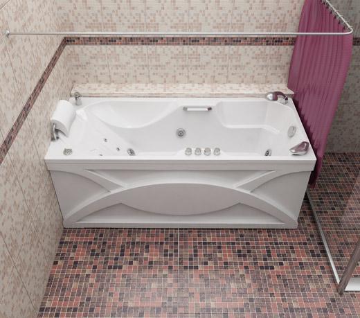 Акриловая ванна ДИАНА 170*75*65