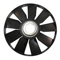 740.51-1308012 Крыльчатка вентилятора КАМАЗ 21-051 (с обечайкой, с вогнутым диском) 704мм