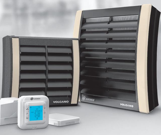 Тепловентилятор с водяным нагревателем VOLCANO VR-1