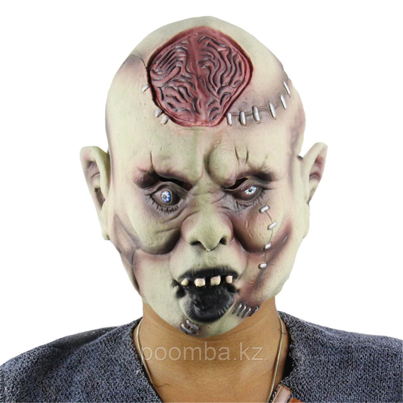 """Маска на хэллоуин """"Зомби"""""""