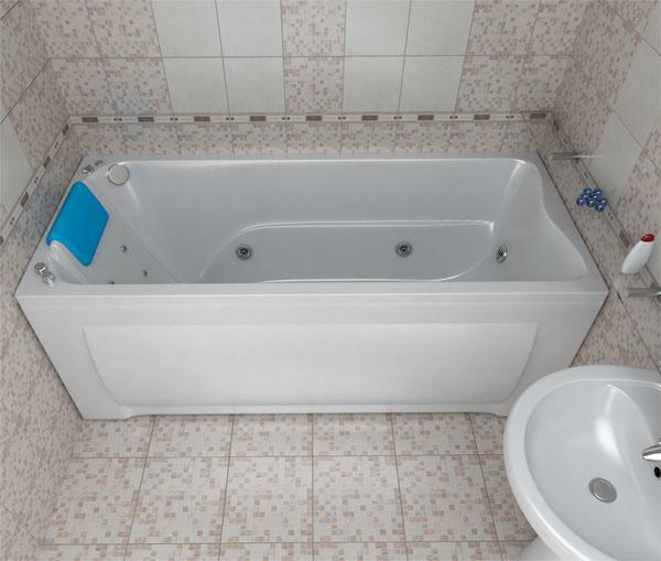 Акриловая ванна БЕРТА 170*70*68