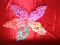 Бахилы яркие 2,8гр: зеленые, оранжевые, розовые, синие, желтые, 50 пар в упаковке