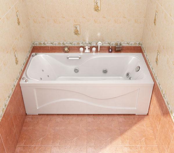 Акриловая ванна КАТРИН 170*76*56