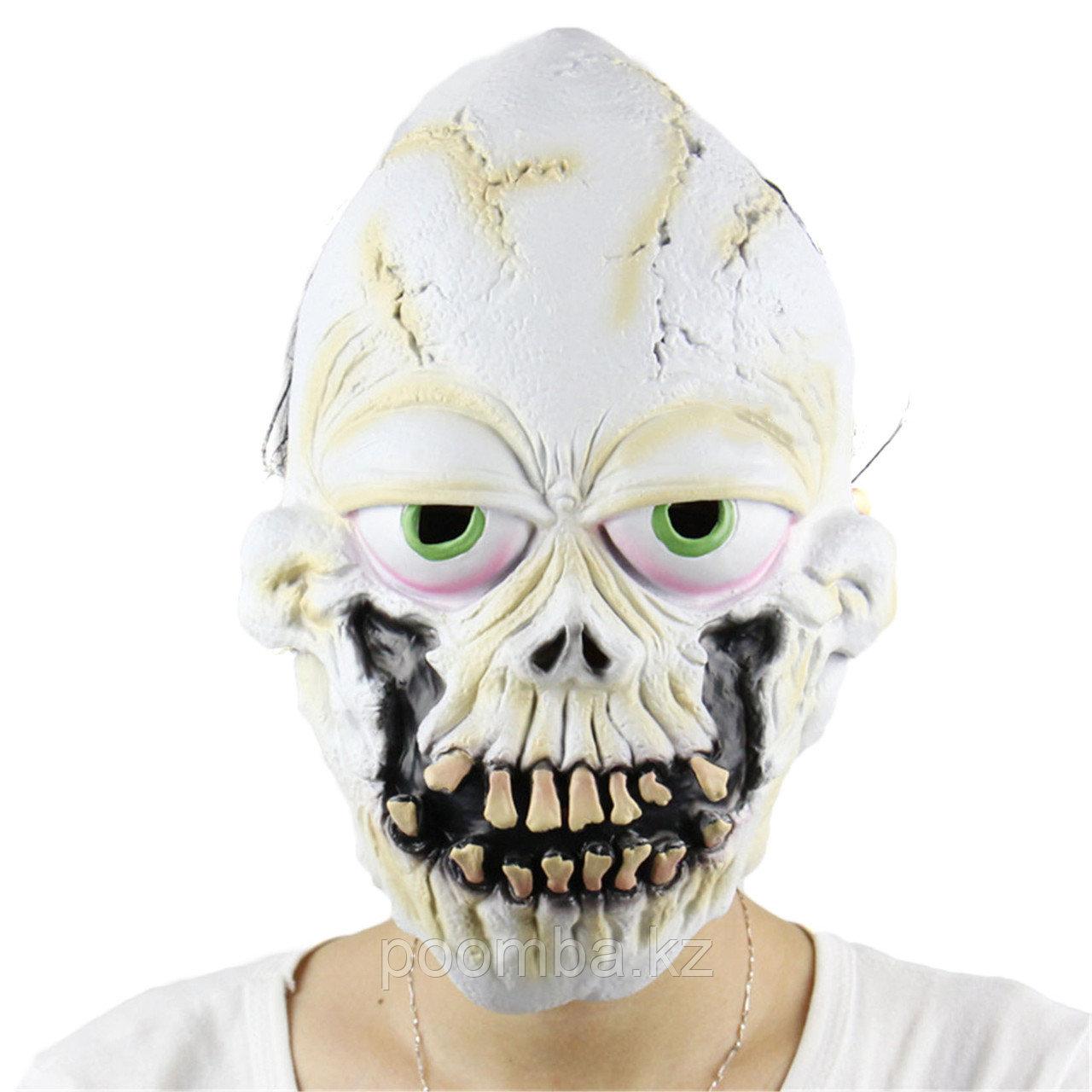 """Маска на хэллоуин """"Зубы Черепа"""""""