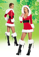 "Новогодний костюм ""Санта"" с капюшоном"