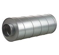 Вентиляционный шумоглушитель серии СР (диаметр от 100-315мм, длиной 600 и 900 мм)