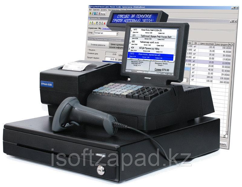 Автоматизация Минимаркета  (1 касса, склад/место администратора)