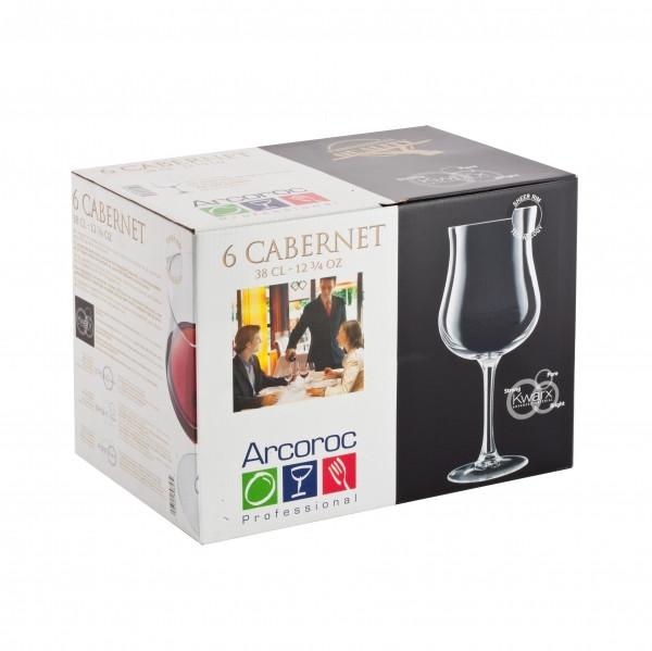 Набор фужеров для вина Luminarc Cabernet Beaujolais 380 мл (6 штук)