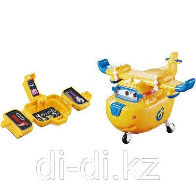 Самолет-трансформер Донни с чемоданчиком, свет, звук из серии Супер Крылья