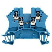 1031480000 Клемма WDU 1.5/BLZ Проходная клемма, Винтовое соединение, 1.5 mm², 800 V, 17.5 A, синий