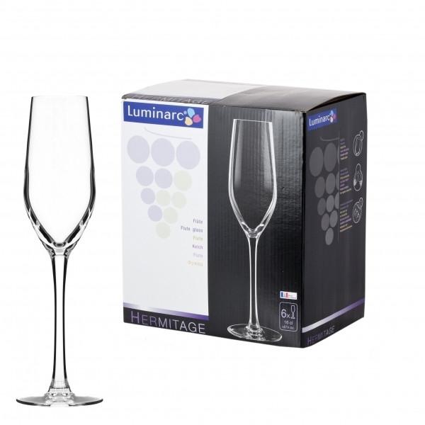 Набор фужеров для шампанского Luminarc Hermitage 160 мл. (6 штук)
