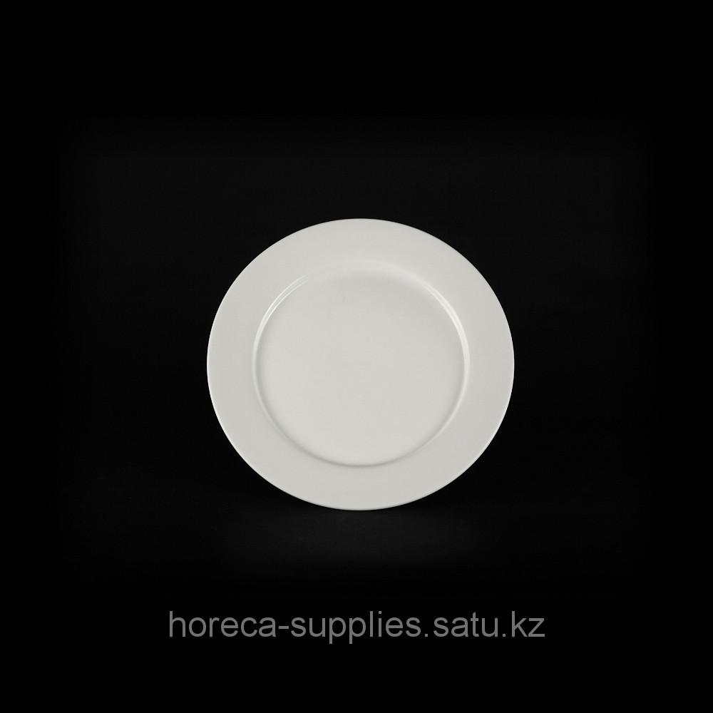 Тарелка мелкая «Chan Wave» 250 мм [ivory LQ-Q006]