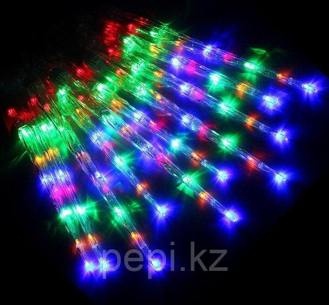 """Электрогирлянда """"Сосульки микс"""" LED, 10шт, 30 см."""