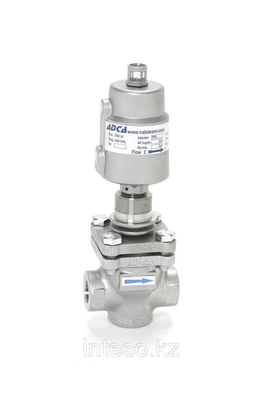 Пневматический регулирующий клапан PPV-25